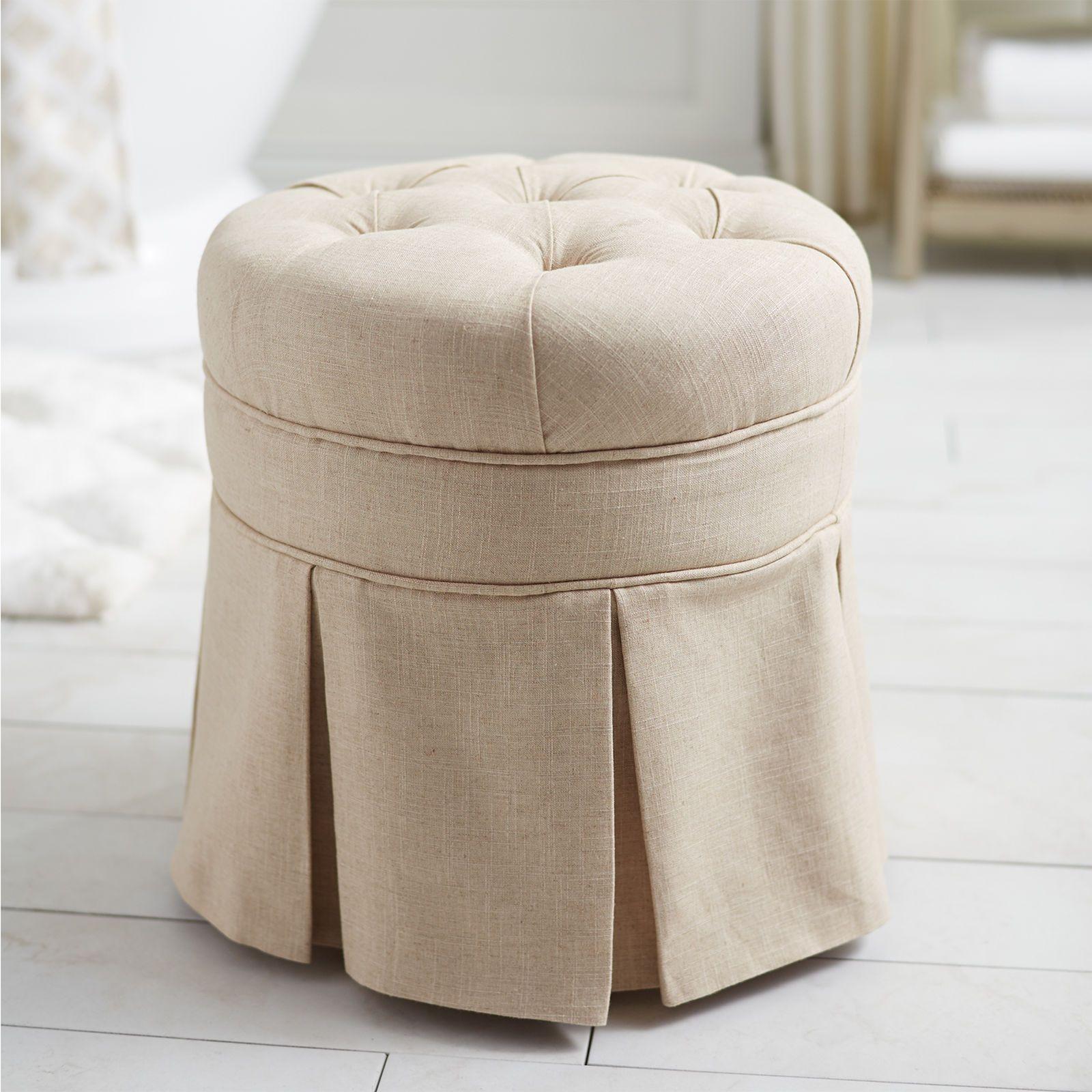 Avery Vanity Stool | Sound design, Vanity stool and Construction