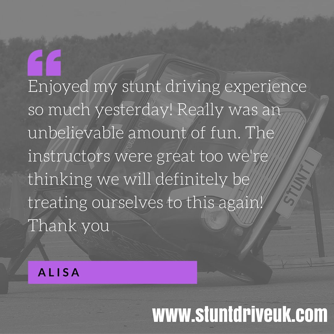 Unbelievable Fun Stunts Driving Experience Driving
