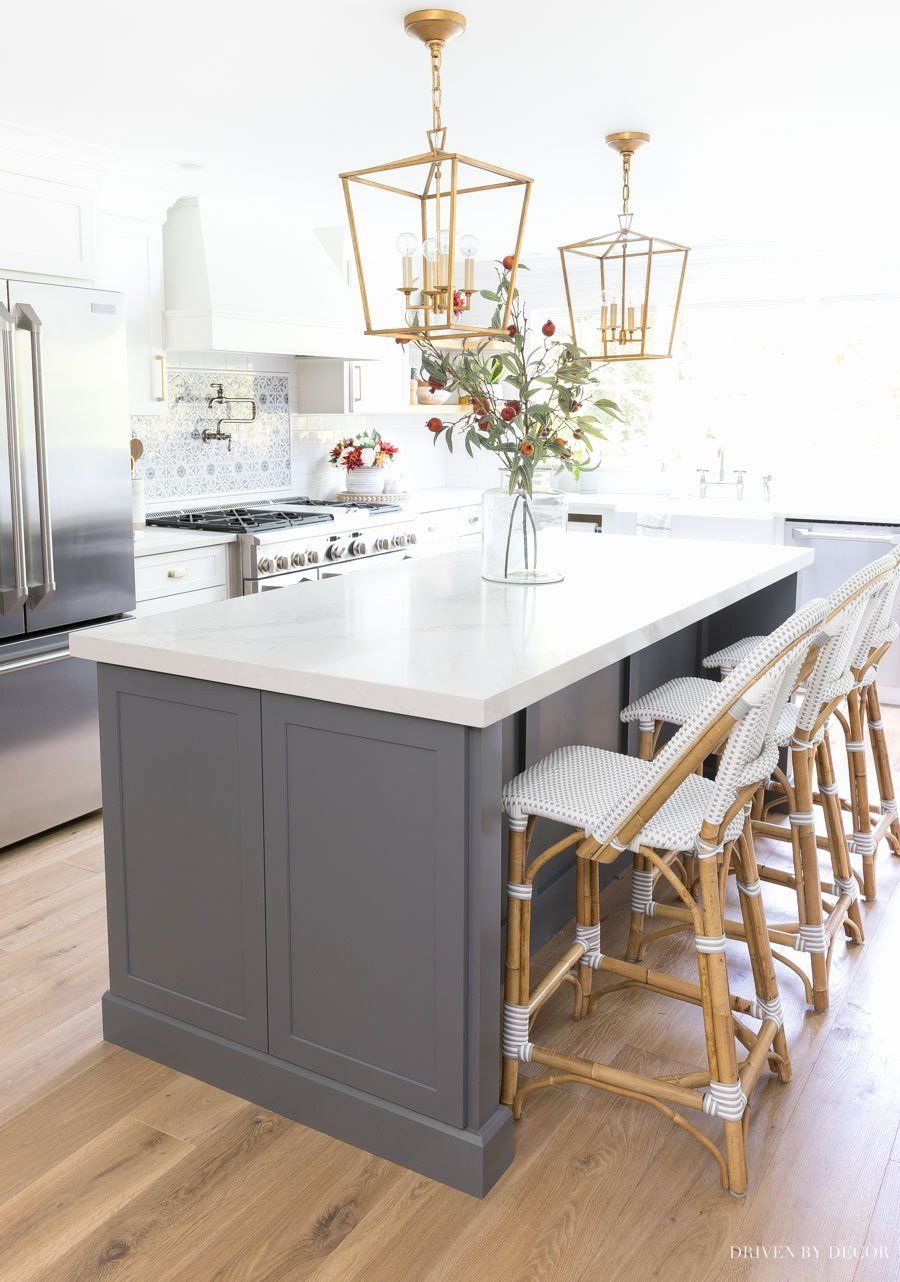 Photos Of Kitchen Island Awesome Height Spacing Of Pendant Lights Over A Kitchen Island My Di 2020