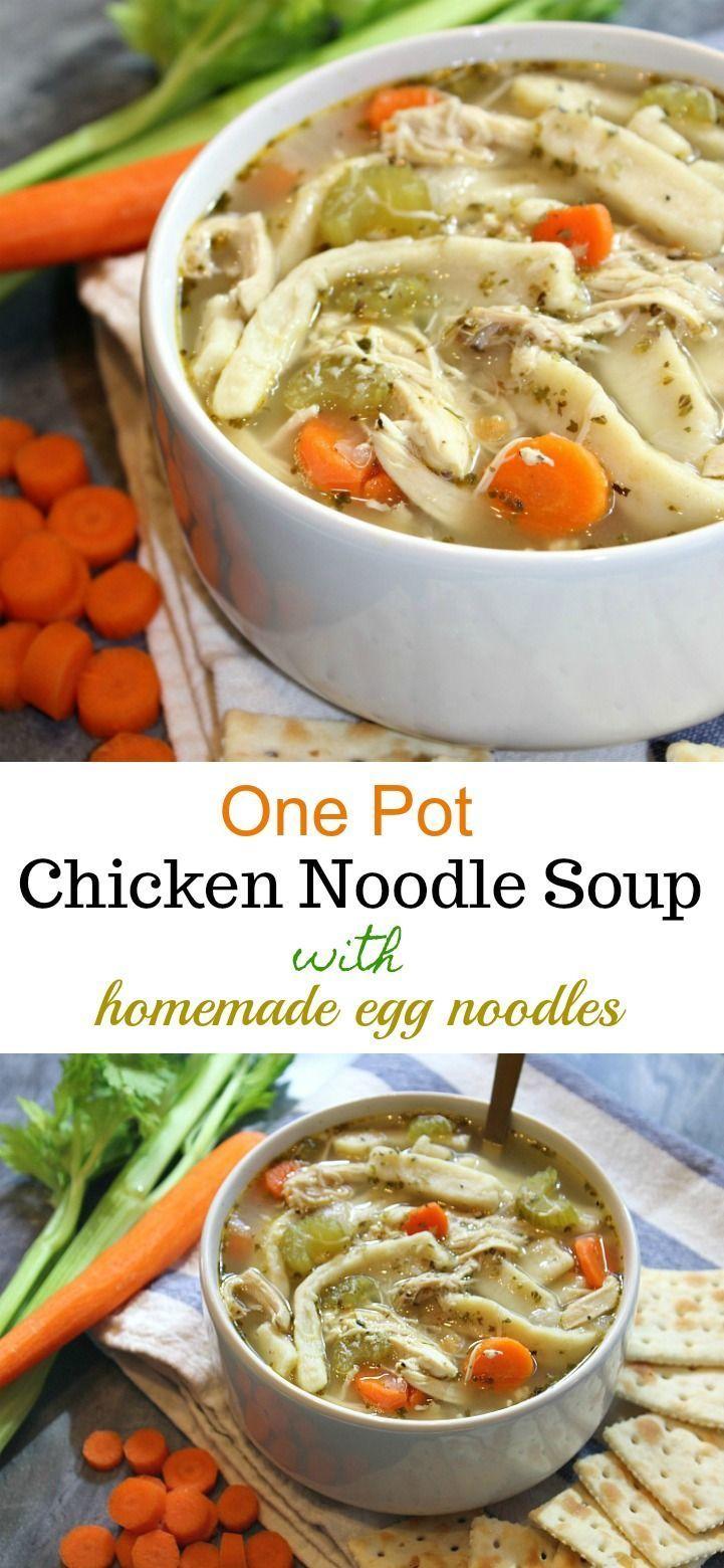 Chicken Noodle Soup - Forks 'n' Flip Flops