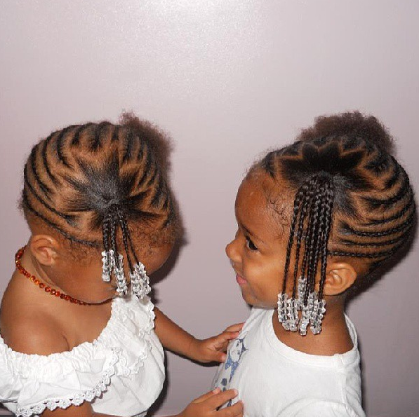 Terrific 1000 Images About Braided Hairstyles For Little Girls On Hairstyles For Women Draintrainus