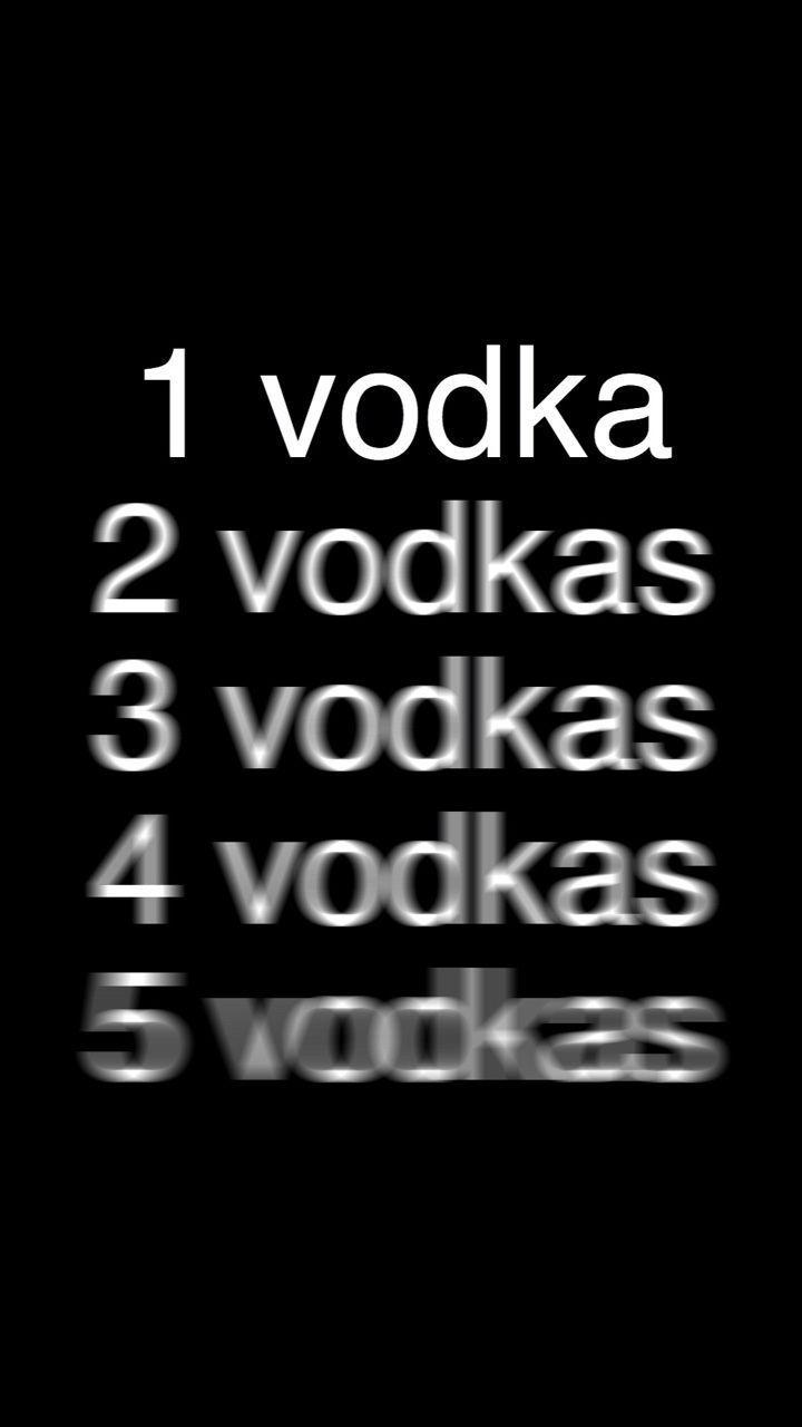 Addiction Drinking Vodka