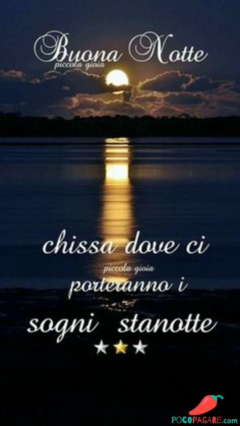 Спокойной ночи открытка на итальянском, анимация