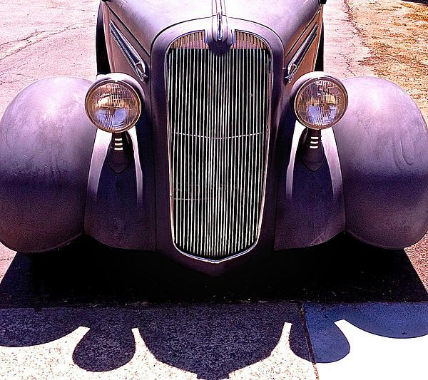 1936 Plymouth II - Card: $8.20 #plymouth #photography #cars #vintagecars #streetphotography
