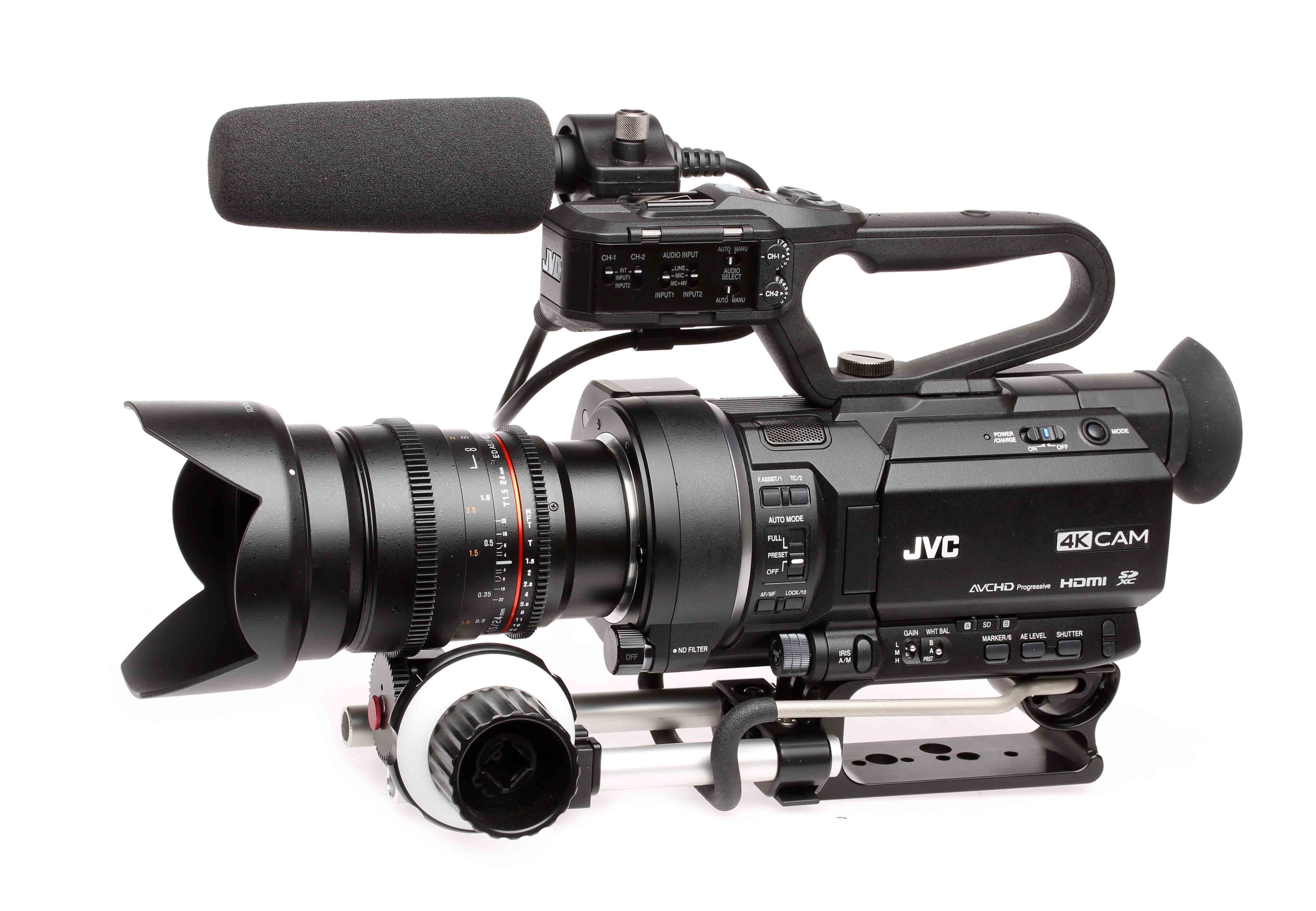 latest firmware for jvc gy-hm200 4kcam