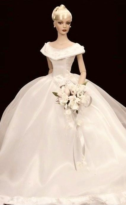 Barbie Bride Doll #bridedolls