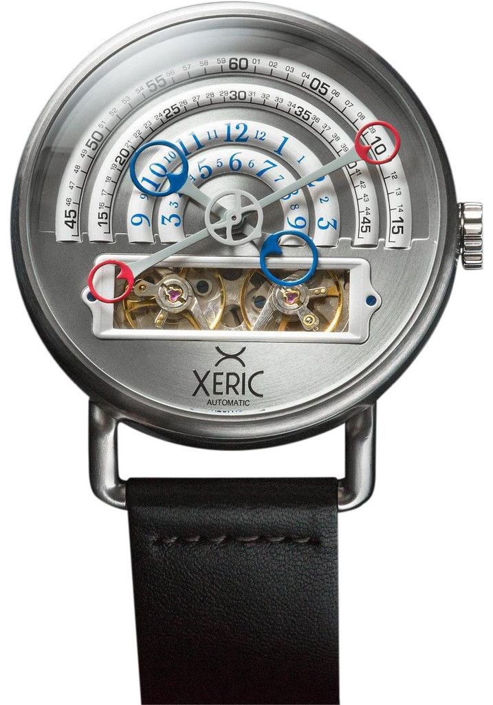 Xeric Silver Halograph Automatic Limited Edition