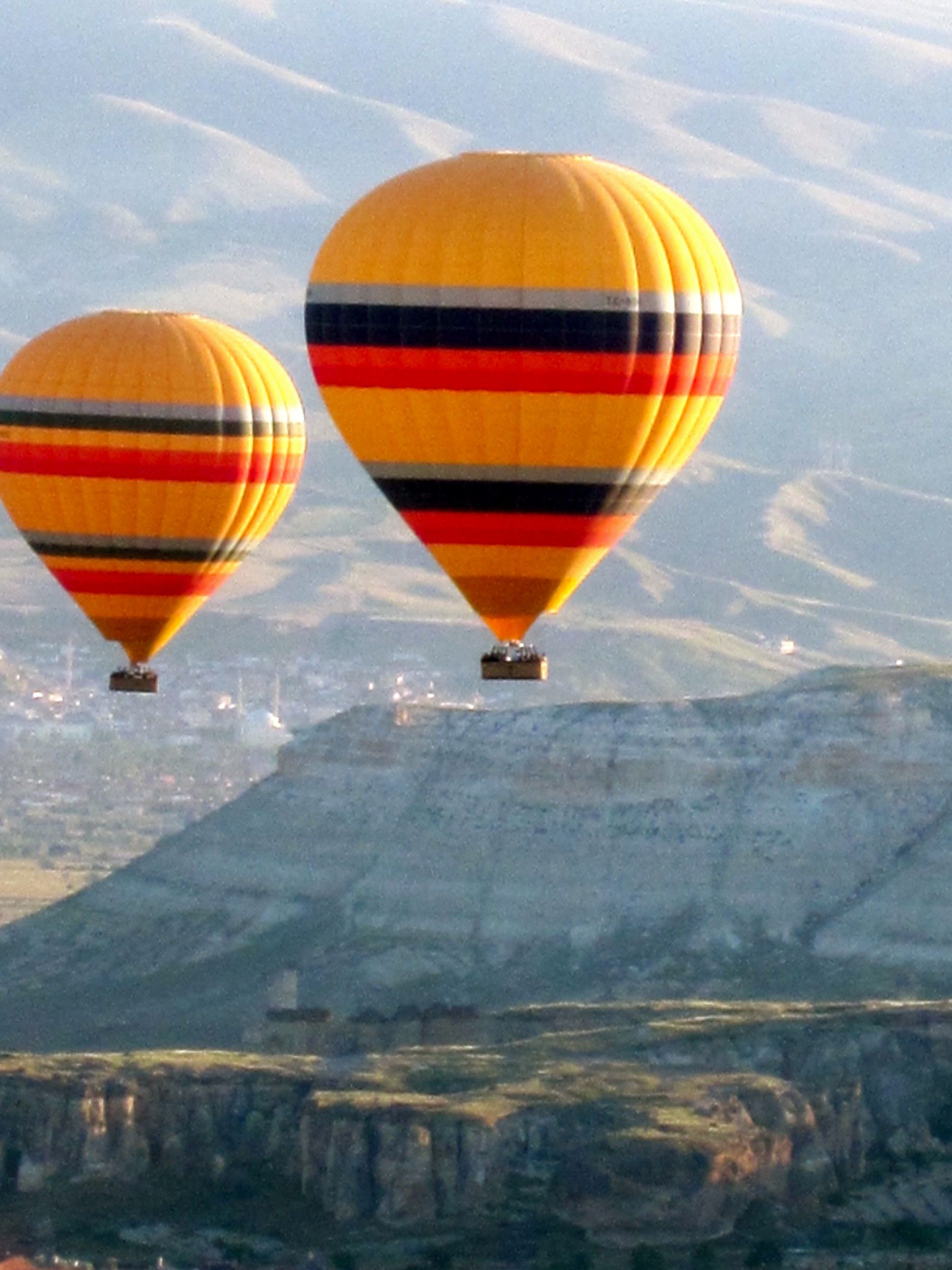Hot air balloons in Turkey. Scary. Air balloon, Hot air