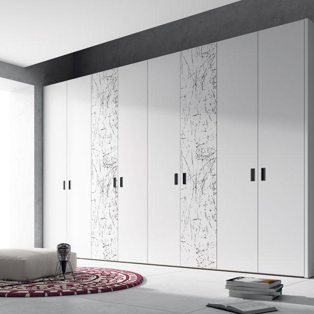Cheap Bedroom Design Ideas Sliding Door Wardrobes: Professional Furniture Manufacturer High Gloss PVC Bedroom