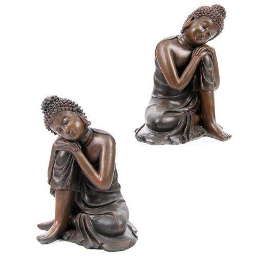 Wood-Effekt Buddha Head on Knee, 2 Assorted - Chinesische... https://www.amazon.de/dp/B0030J95MW/?m=A37R2BYHN7XPNV