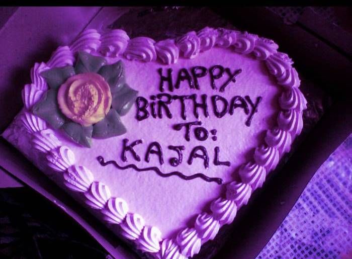 Birthday Cake With Name Quotes ~ Happy birthday kajal cake images wishes quotes & sms happy