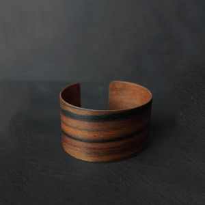 Beautiful wooden cuff