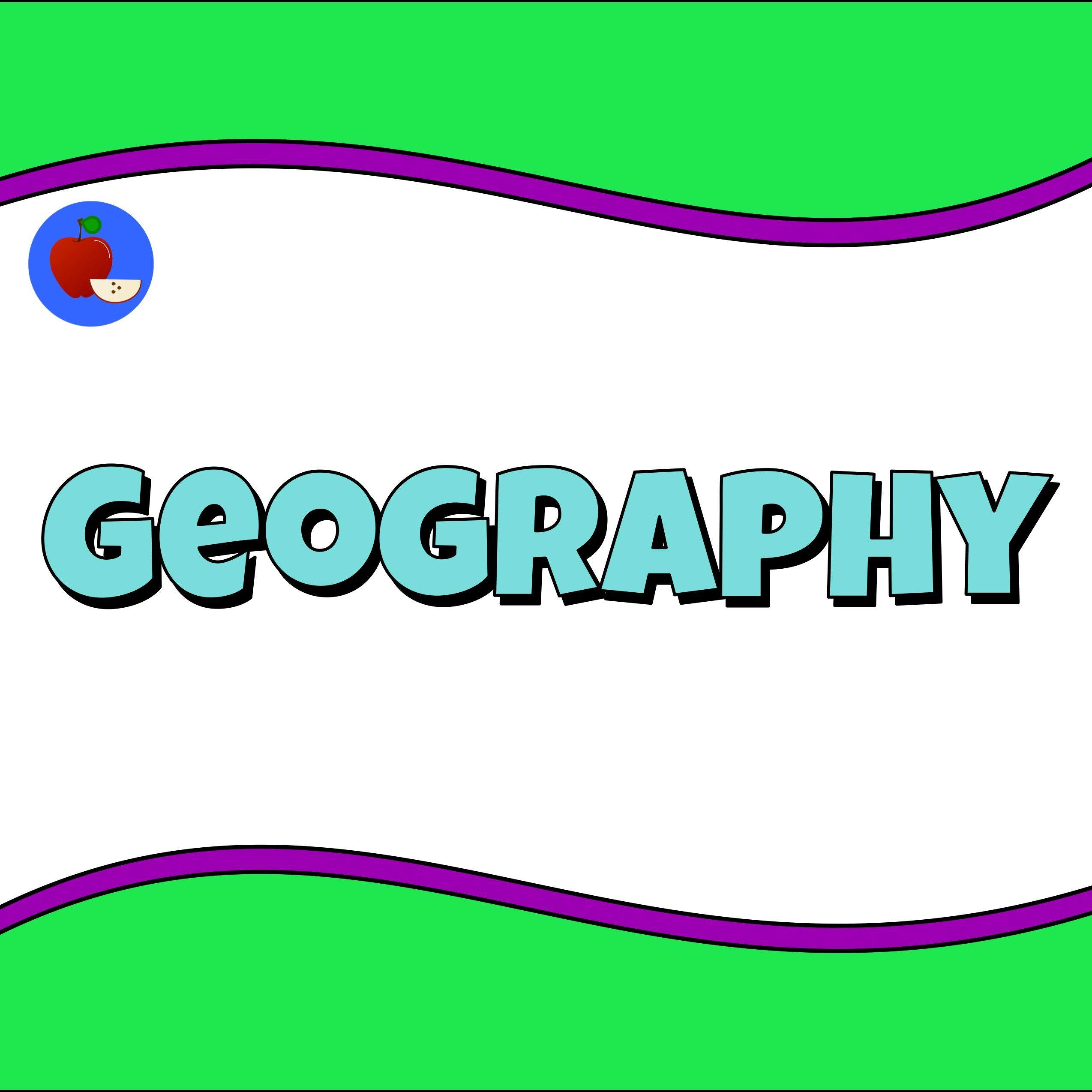 Geography Lessons Image By Terbet Lane Learning Resources