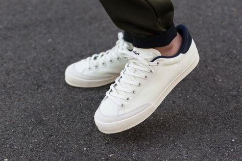 """new product 004a9 bd388 adidas Rod Laver Prez """"Cream White"""""""
