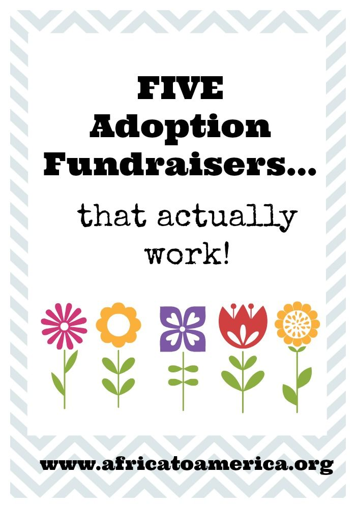 Adoption Fundraisers That Are Effective Without Being Awkward