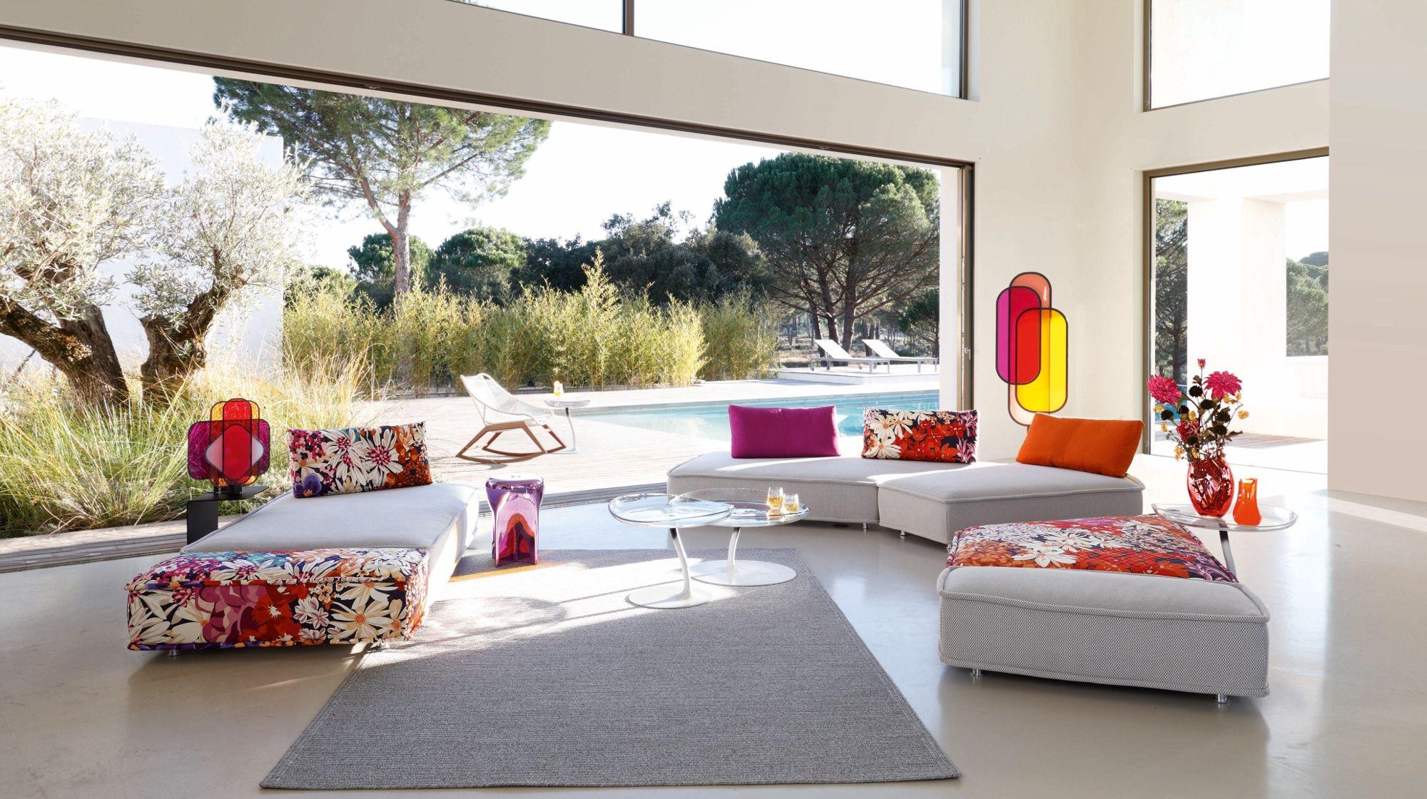 Moderne einrichtung ideen wohnzimmer roche bobois for Moderne einrichtung wohnzimmer