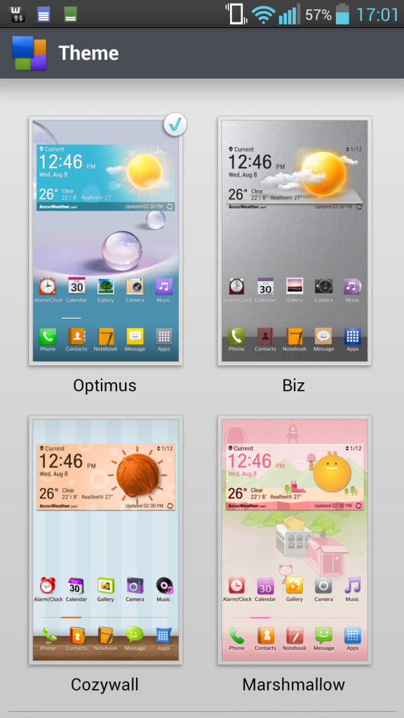 How to Customize Home Screen on LG Optimus G Pro