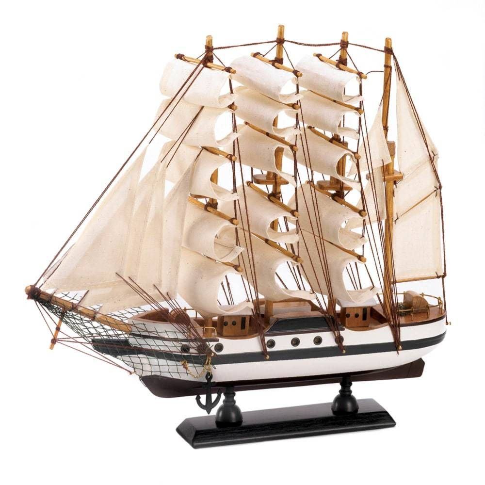 Zingz & Thingz Passat Ship Model 13×2.75×12″
