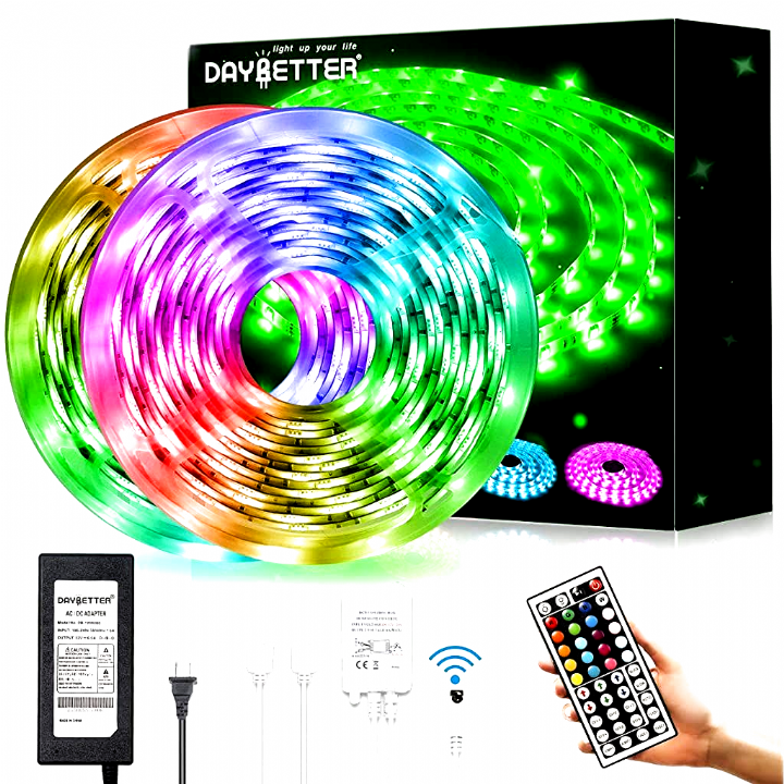 LED Strip Lights 32.8ft RGB Color Changing 5050 600LEDs Waterproof Flexible New