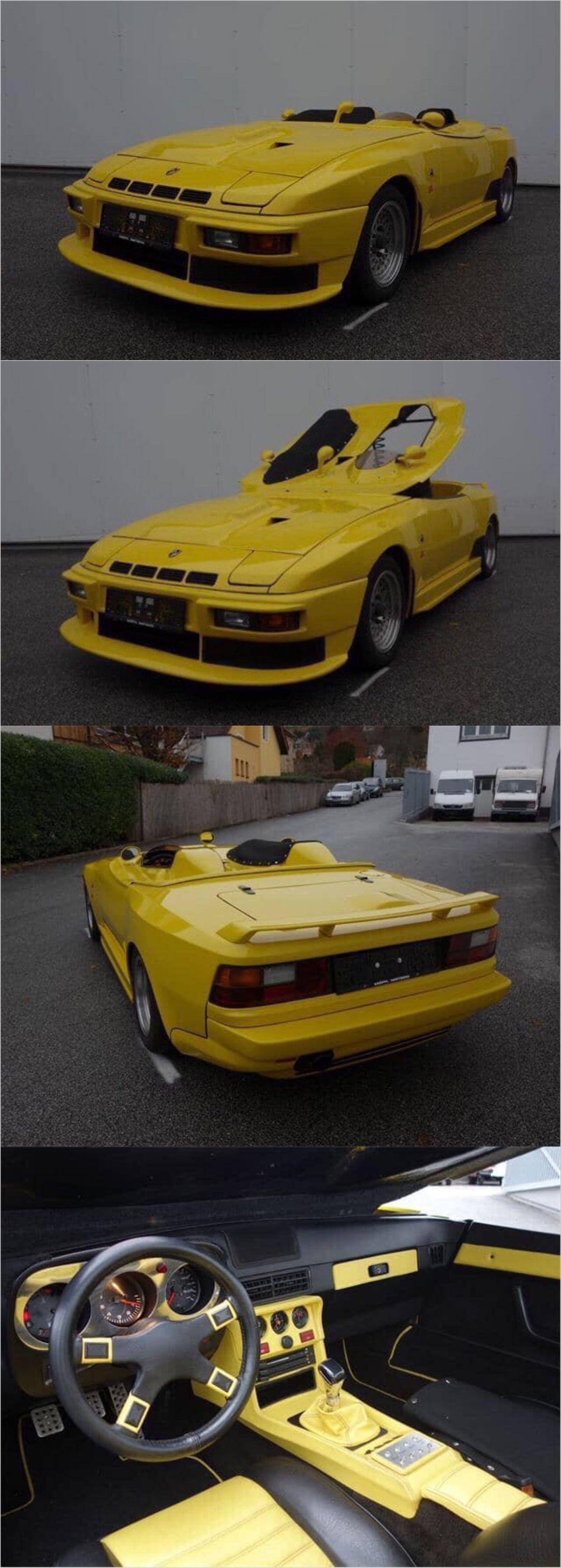 Porsche 924 Turbo Spyder Prototype Porsche 924 Porsche 944 Porsche
