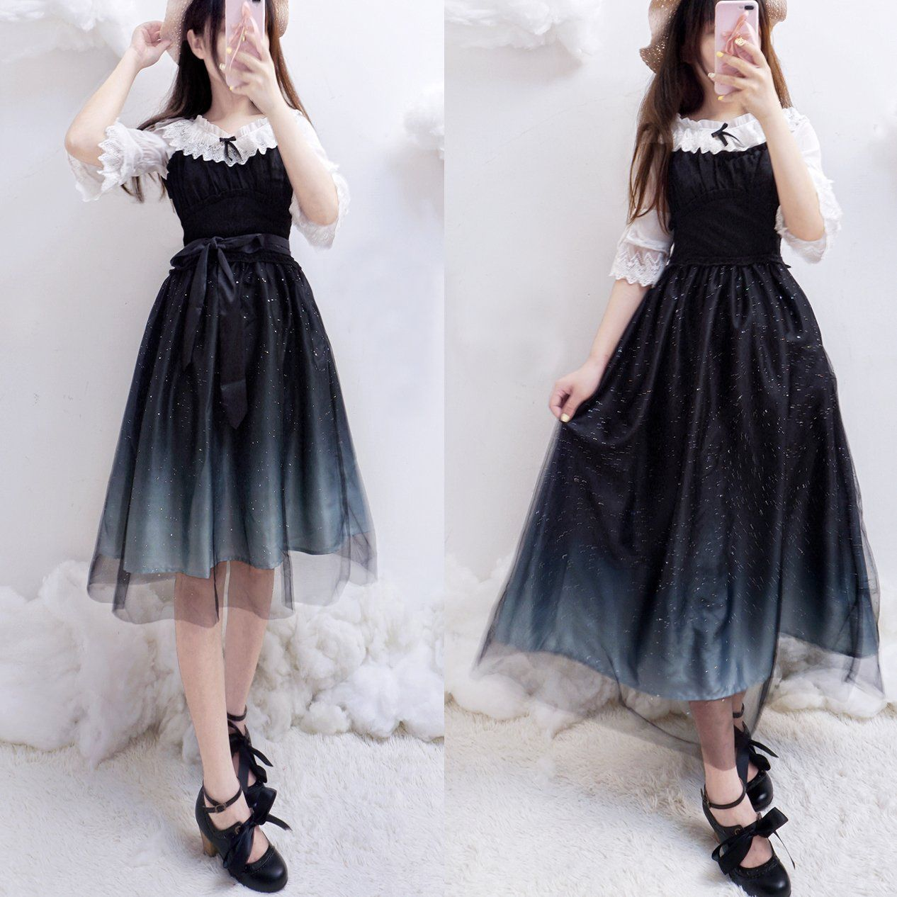 Black dress japanese