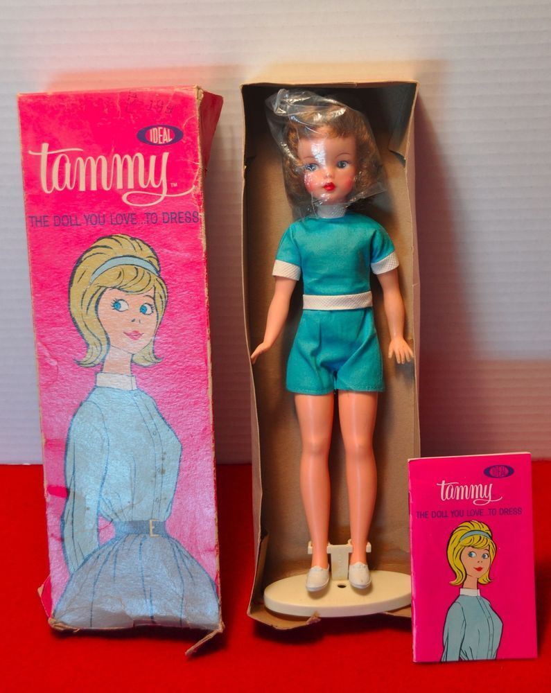 "1960/'s Ideal Toys /""Tammy/"" Doll Booklet /""The Doll You Love to Dress/"" with pricing"