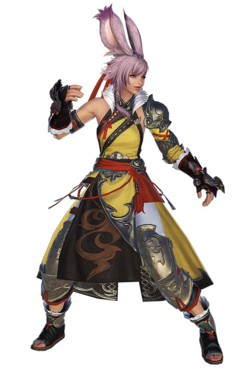 Monk Render from Final Fantasy XIV: Shadowbringers #art