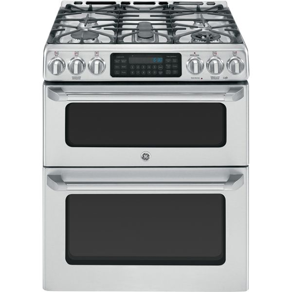 30 Gas Self Clean Convection Range Ge Cafe Appliances Gas Range Double Oven Double Oven Range