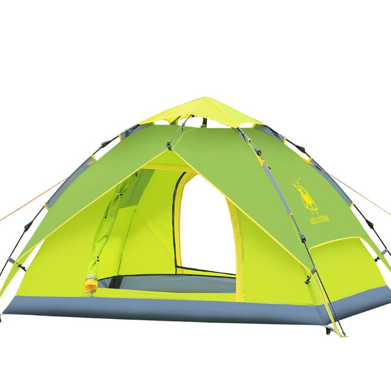 Gazelle Outdoors Person Tent Double Layer Waterproof Family C&ing Hiking Instant Pop Up Tent Quick Shelter Umbrella Canopy - Green -- Discover this ...  sc 1 st  Pinterest & 67.54$ Buy here - http://aisec.worlditems.win/all/product.php?id ...