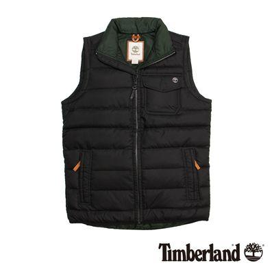 Timberland 男款黑色可收納輕量鵝絨背心 | 背心/T恤 | Yahoo奇摩購物中心