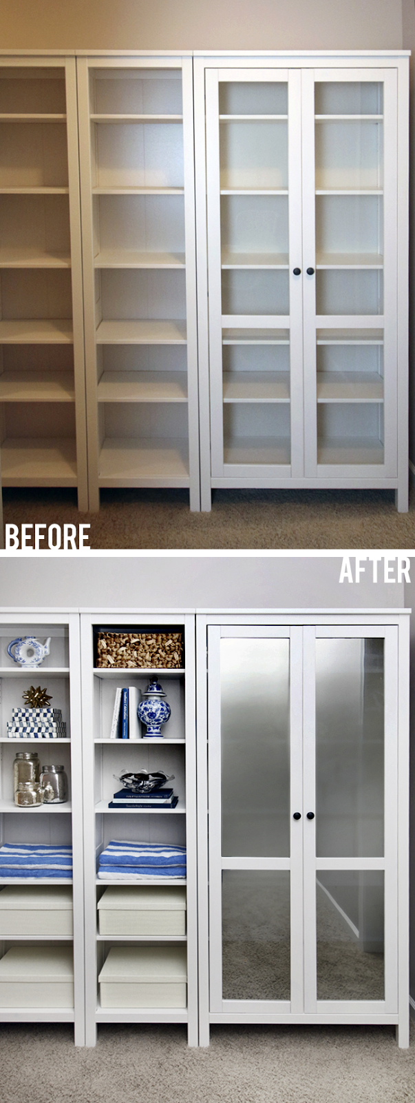 Diy Mirrored Cabinet Doors Ikea Glasses Glass Front Cabinets And