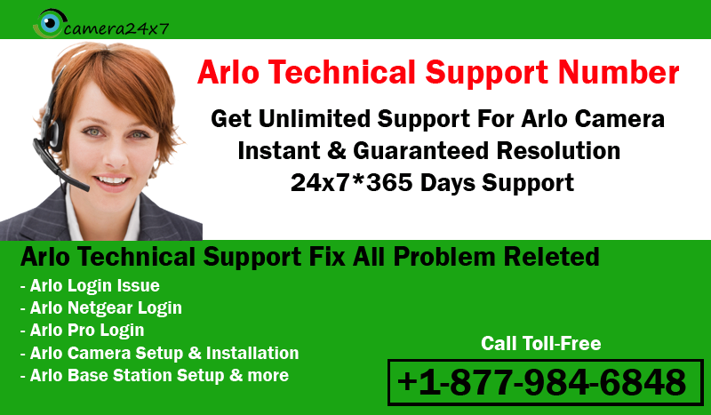 Call 18186683599 Arlo Technical Support Phone Number