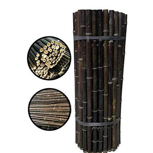 Photo of GDMING 2020 Update Natural Garden Rolled Bamboo Fence Outdoor Decorative Guardrail Wind & Sun…