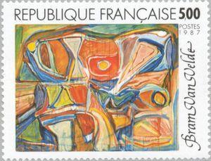 Work of Bram Van Velde (1895-1981)