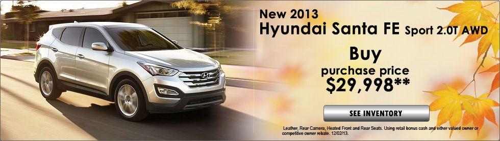 Hyundai Santa Fe Special!