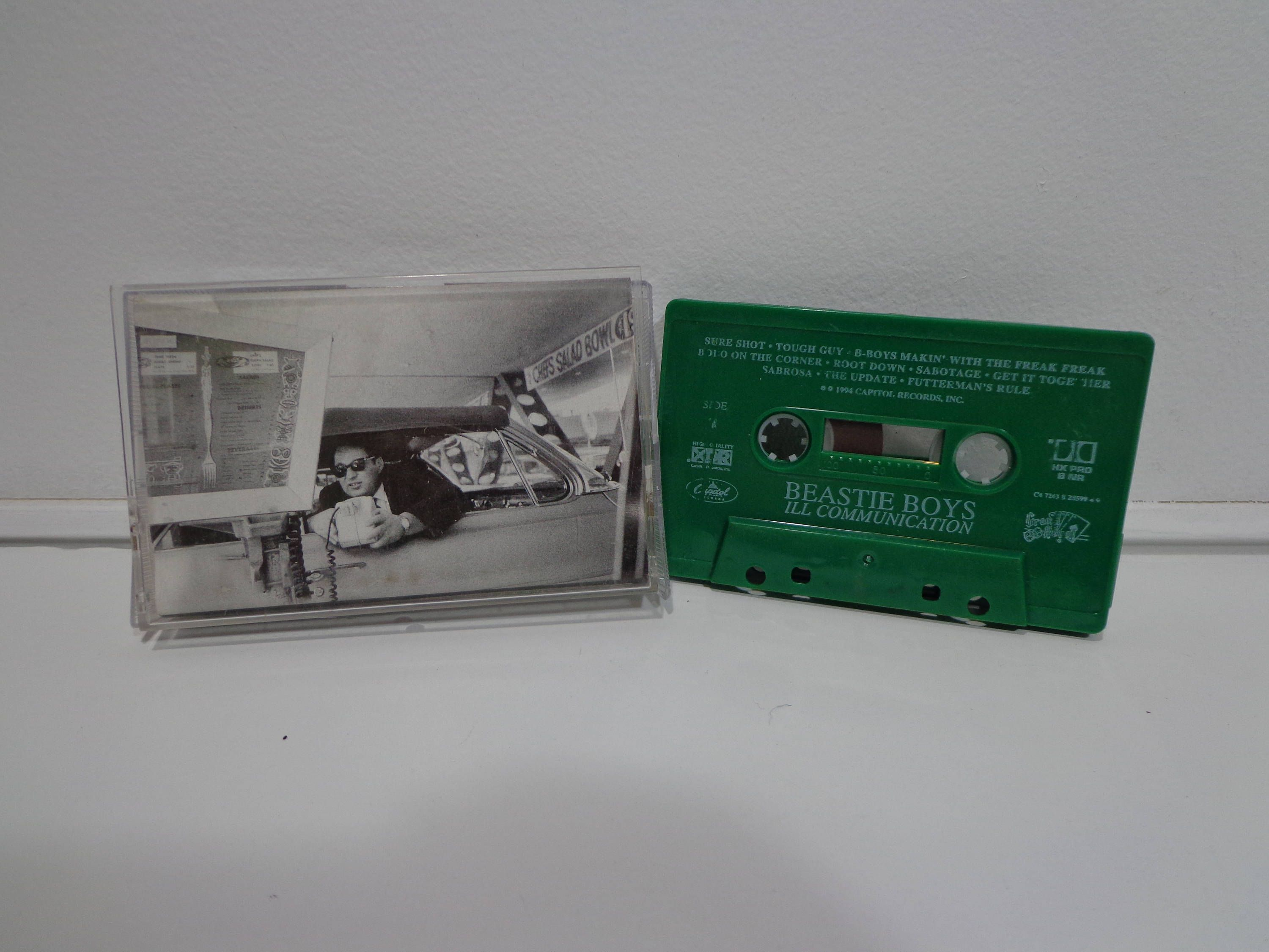 Vintage 1994 Collectible Beastie Boys Ill Communication Green