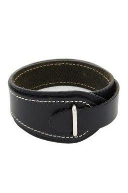 Vintage Hermes Leather Bracelet - Black   Weed   Pinterest ... 5e057b3fcde