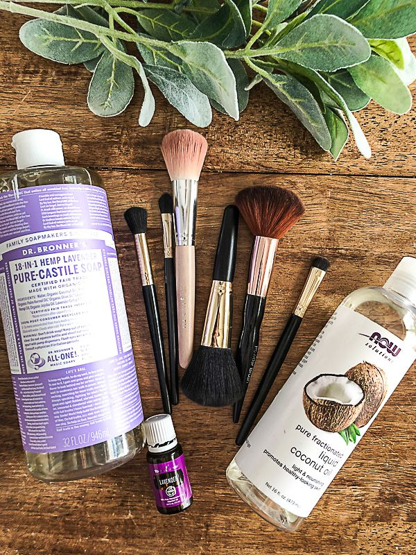 How To Clean Makeup Brushes At Home How to clean makeup