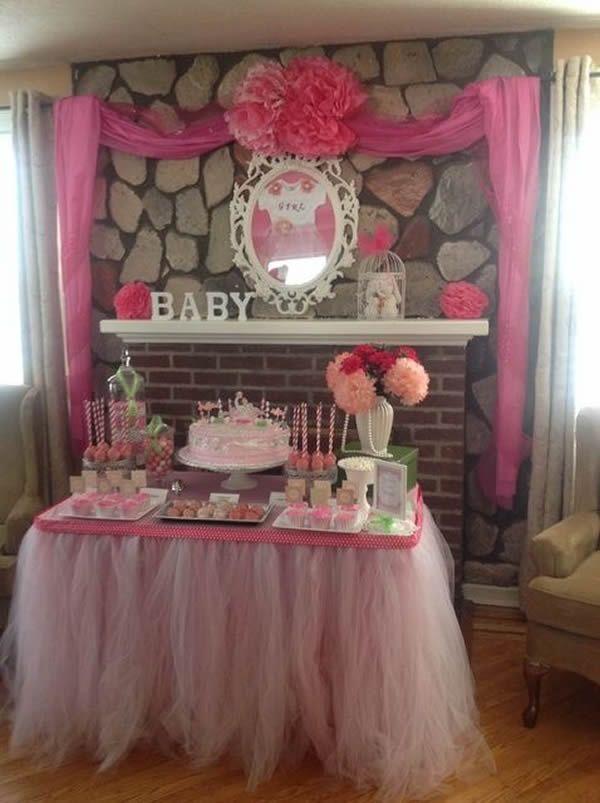 10 Ideas para baby shower nina