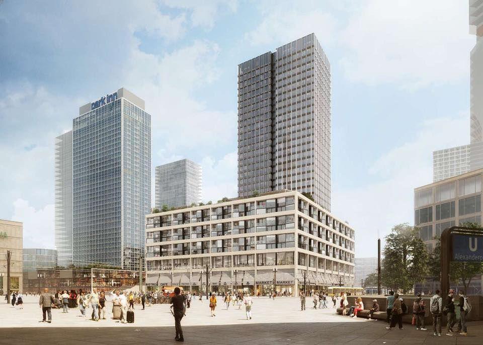 Immeo Fdr Areal Am Alexanderplatz Seite 4 Deutsches Architektur Forum Hochhaus Architektur Architekturwettbewerb