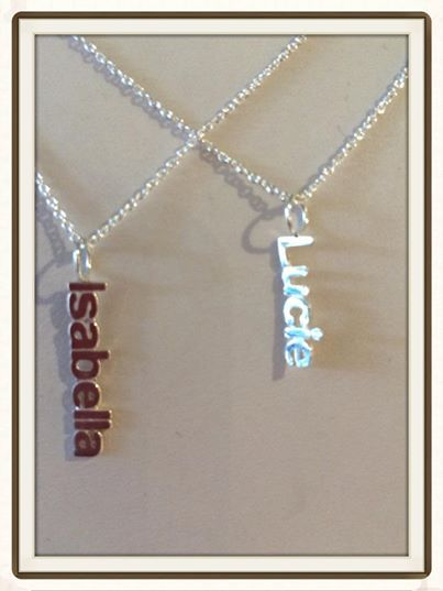The perfect graduation gift.... Love the hanging name charm.