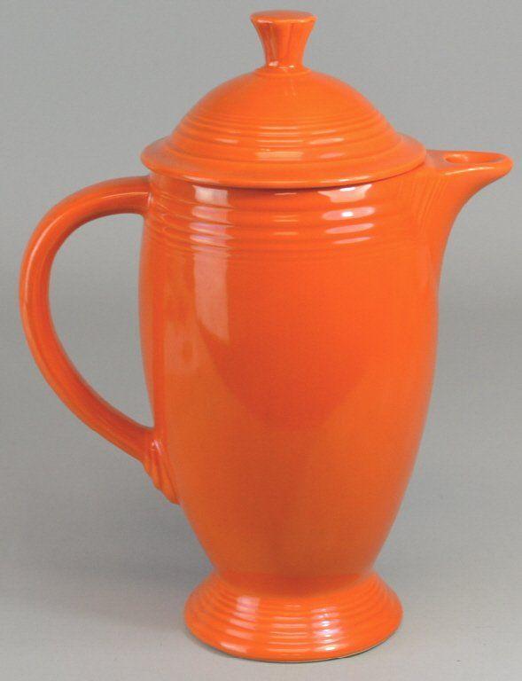 Fiesta Ware Red Coffee Pot