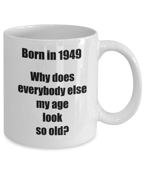 Happy 70th Birthday Mug 70 Year Old Gift For Women Men Coffee Tea Cup