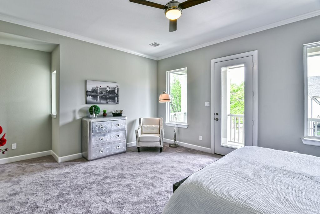 This Master Suite Features Mohawk Carpet By Top Card In