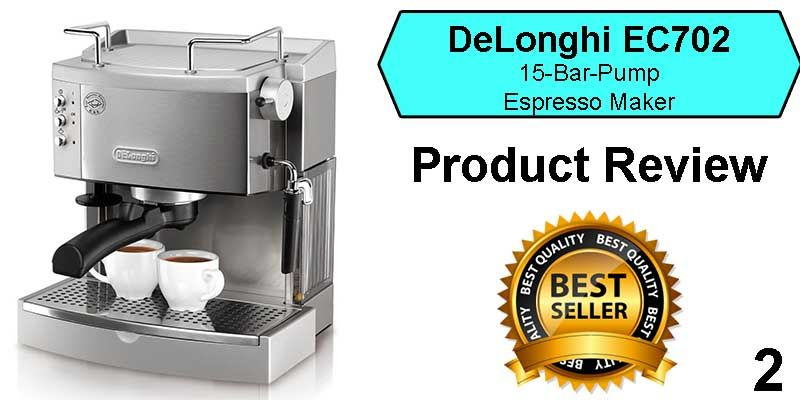 Best Espresso Machine Under 200 Delonghi Ec702 Espresso