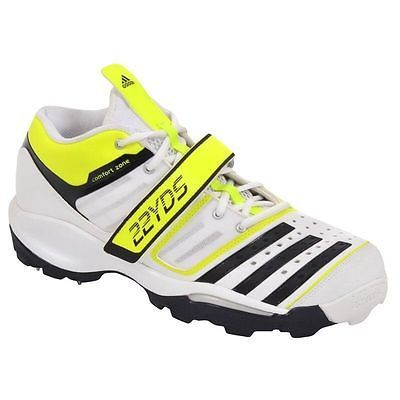 super popular 50e89 344a3 New Mens Adidas Twenty2yds  22yds Mid III Cricket Shoes  BOWLING Spikes   eBay Adidas