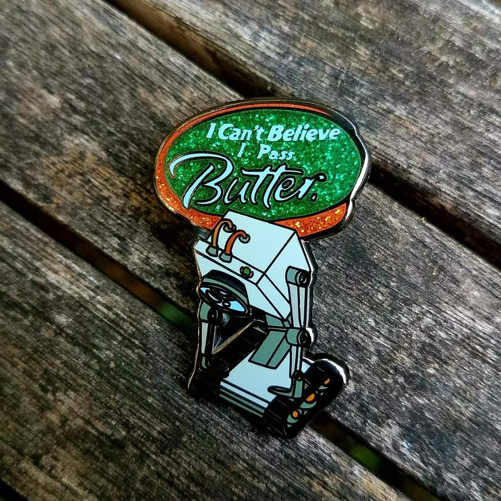 The Butterbot Returns! Clever Rick and Morty design by Casey