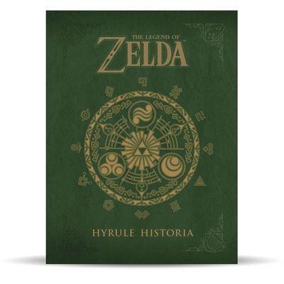 Libro de arte Zelda Hyrule Historia
