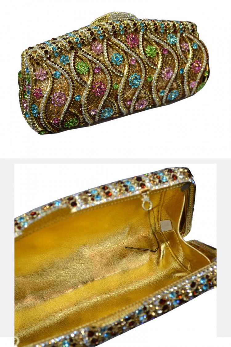 Luxury beauty Color diamond 2014 Handbag 3016