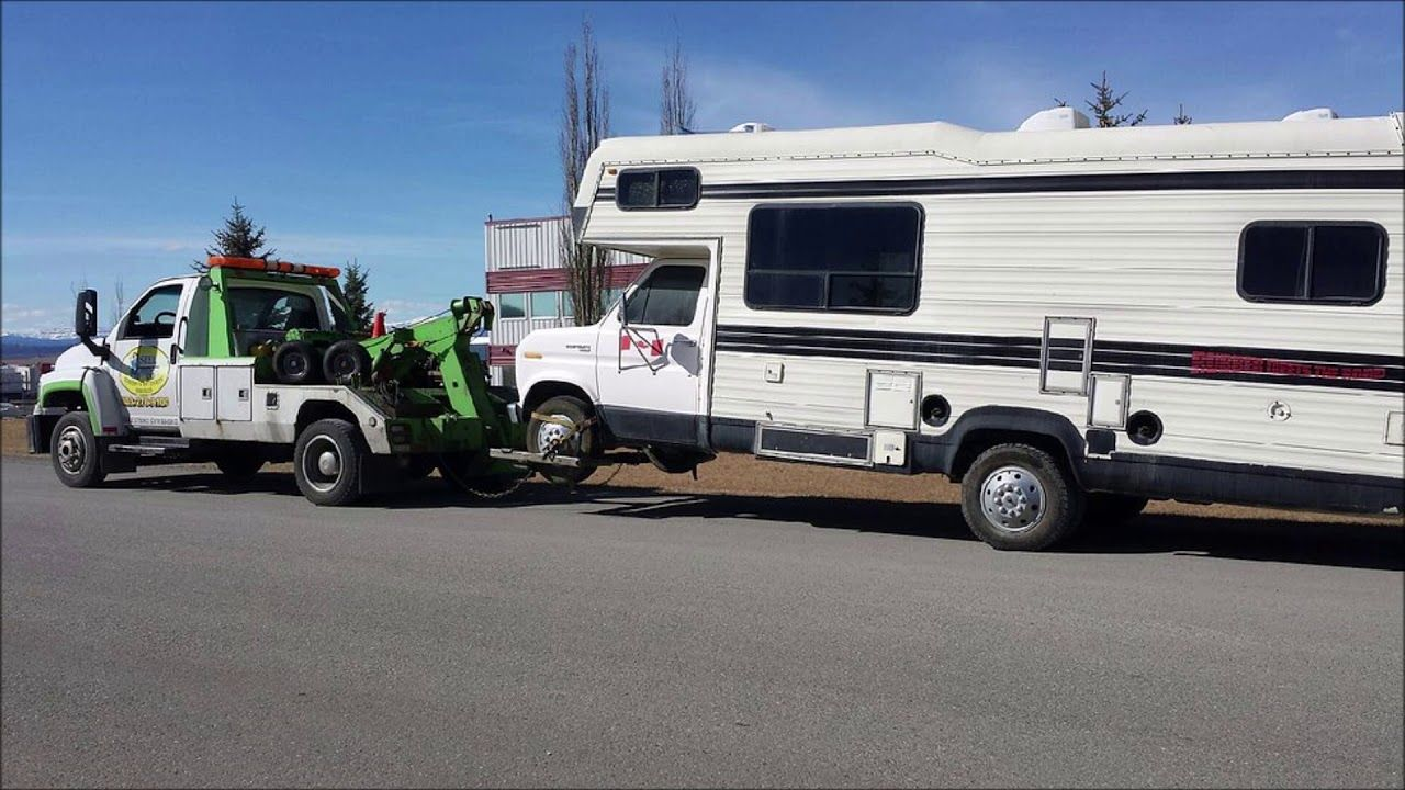 Motor home towing services in las vegas nv aone mobile